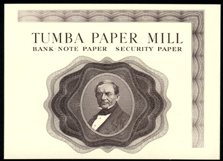 Tumba Paper Mill - Bank note paper