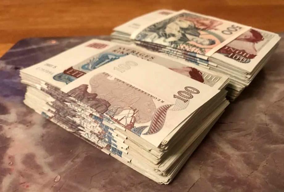 Pinter gav 21 ganger pengarna